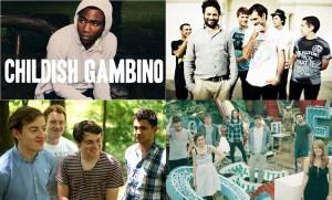 Childish Gambino - The Cat Empire - Bombay Bicycle Club et plus à Montréal!