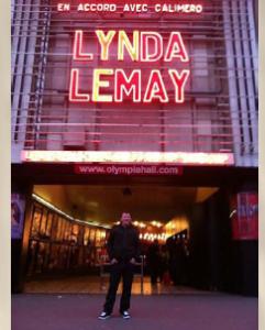 Ovation debout pour Maxime Landry à l'Olympia de Paris !