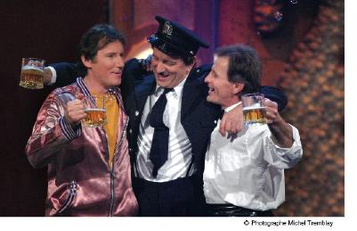 Marc Messier, Michel Côté et Marcel Gauthier