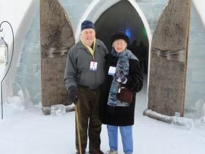 l'Hôtel de Glace accueillait son invité le plus âgé depuis son ouverture en 2001