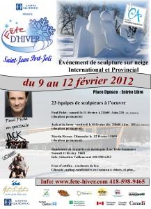Fête d'Hiver de Saint-Jean-Port-Joli du 9 au 12 février 2012