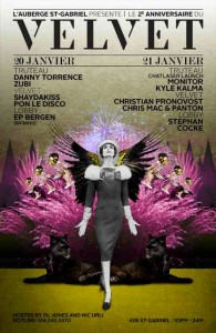 2e anniversaire du Velvet Speakeasy de l'Auberge Saint-Gabriel