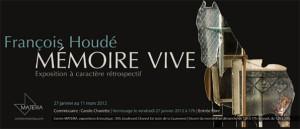 MATERIA   Nouvelle exposition « François Houdé - Mémoire vive »