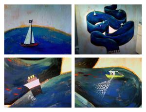 Exposition « Le Son Voyage Plus Vite Dans L'Eau »
