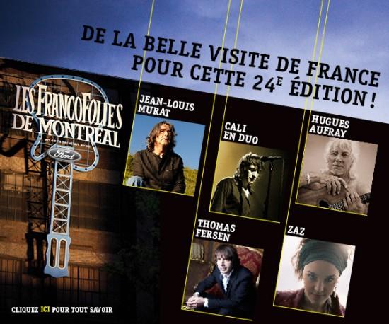 De la belle visite de France pour cette 24e édition!
