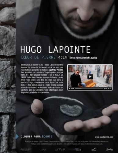 Hugo Lapointe | Coeur de pierre