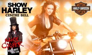 Alice Cooper au Show Harley - Rappel ce sam. 28 janvier - Centre Bell