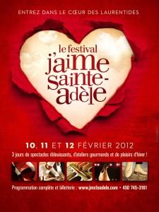 Le grand rassemblement en « cœur »  Le dimanche 12 février à 16 h – Lac Rond, Sainte-Adèle