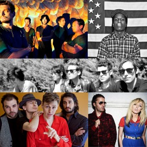 Snow Patrol / A$AP Rocky / Crocodiles / Matt Pryor / The Ting Tings / Joel Plaskett
