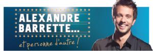 Alexandre Barrette en supplémentaire le 7 avril 2012