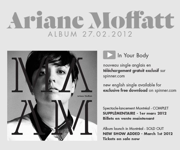 Ariane Moffatt - In Your Body