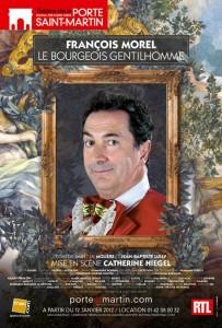 Le Bourgeois Gentilhomme à partir du 12 janvier au Théâtre de la Porte Saint-Martin