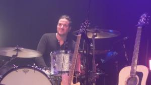 Marc Chartrain à la batterie
