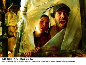 La troupe Qui va là jouera la fable « Le Nid » le jeudi 1er mars à la Maison culturelle et communautaire de Montréal-Nord