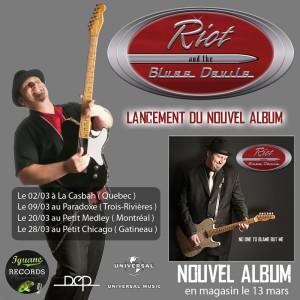 Nouvel Album de Riot and the Blues Devils
