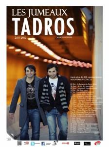 LES JUMEAUX TADROS - Nouvelle tournée et album