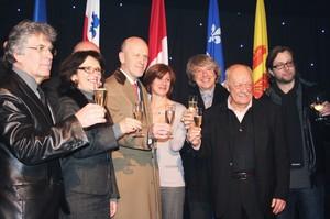 Principaux acteurs du festival Montréal en Lumière 2012©Julie Cler