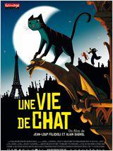 UNE VIE DE CHAT de Jean-Loup Felicioli et Alain Gagnol - À l'affiche le 2 mars.