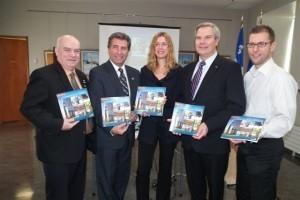 André Drolet, Julie Lemieux, Simon Brouard et Sylvain Légaré