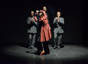 "Myriam Allard la danseuse de ""La Otra Orilla"""