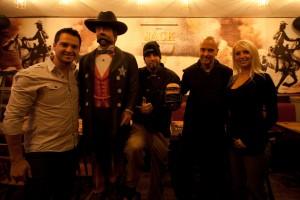 Ian Sevigny (co-propriétaire), Dave Struggle (chef), Jason O'Keefe et Catherine Lacroix (co-propriétaire).