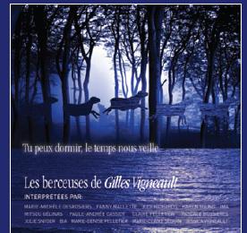 TU PEUX DORMIR LE TEMPS NOUS VEILLE - Album de berceuses de monsieur Vigneault