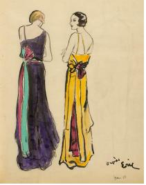 l'exposition Mode et apparence dans l'art québécois, 1880-1945,