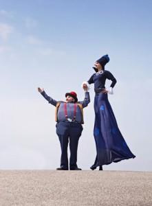 Le théâtre-cirque pour enfants La pluie de bleuets à L'Anglicane le 11 mars