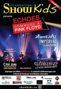 Spectacle bénéfice ShowKids : Hommage à Pink Floyd