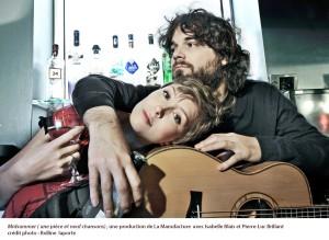 Isabelle Blais et Pierre-Luc Brillant,