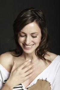 Sophie Beaudet pour le lancement de son album Garçonne