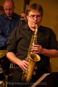 le saxophoniste Alexandre Côté