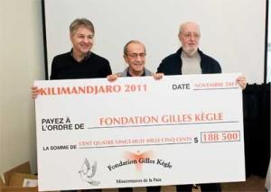 Fondation Gilles Kègle : une expédition réussie au Kilimandjaro !
