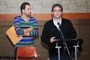 Blaise Fortier, cofondateur de JMM et Pierre Girard, directeur général de JMM