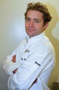 Julien Dumas à titre de chef du restaurant Panache.