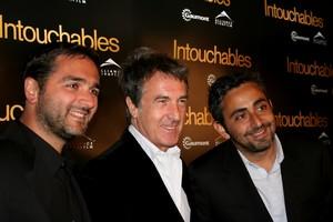 Francois Cluzet, Eric Toledano et Olivier Nakache