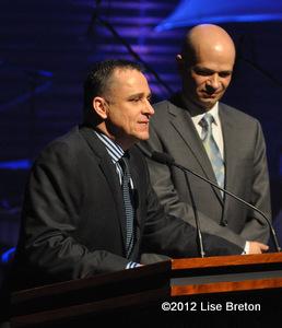Martin Masson et André Tardif de GRIS-Québe
