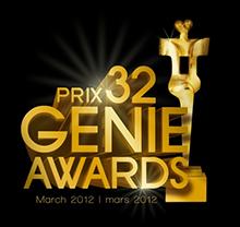 32e GALA ANNUEL DES PRIX GÉNIE, diffusé en direct sur les ondes de CBC Television le jeudi 8 mars, à partir de 20 h (20 h 30 HTN).