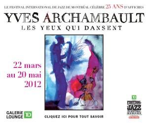 Yves Archambault - Les yeux qui dansent