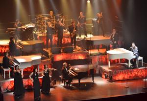 Musiciens de Piano Men
