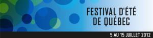La 45e édition du Festival d'été de Québec se tiendra du 5 au 15 juillet 2012.