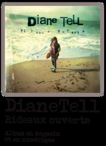 Diane Tell lance L'amour vacarme, le nouvel extrait de son récent album Rideaux ouverts.