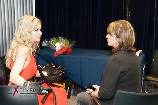 Brigitte et Nathalie en entrevue