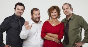 Jeff Boudreault, Michel Charrette, PIerrette Robitaille et Martin Héroux