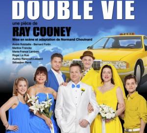 Double Vie: à la Salle Albert-Rousseau le 31 août et le 1er septembre 2012
