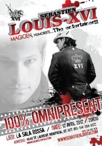 Sébastien Louis-XVI Magicien-Humoriste - 100% Omniprésent