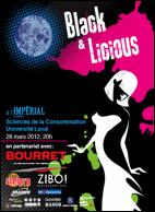 28 mars 2012 - Défilé Black & Licious / Festival Québec Mode