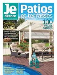 Je décore : Patios et terrasses