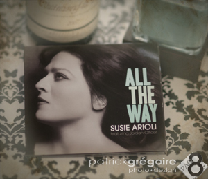 Pochette du Compac disque de Susie Arioli