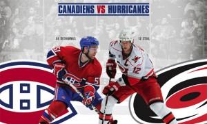 Canadiens vs Hurricanes - 2 octobre 2012 - Colisée Pepsi